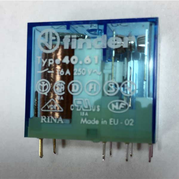 Front Heating Resistor Relay