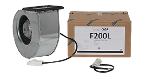 Fan Package 300 L Model Input/Output
