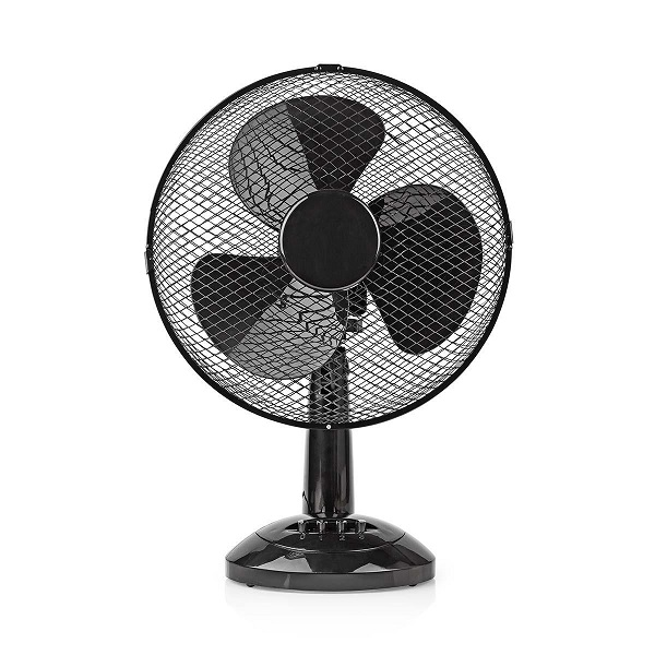 Table Fan 30Cm Black