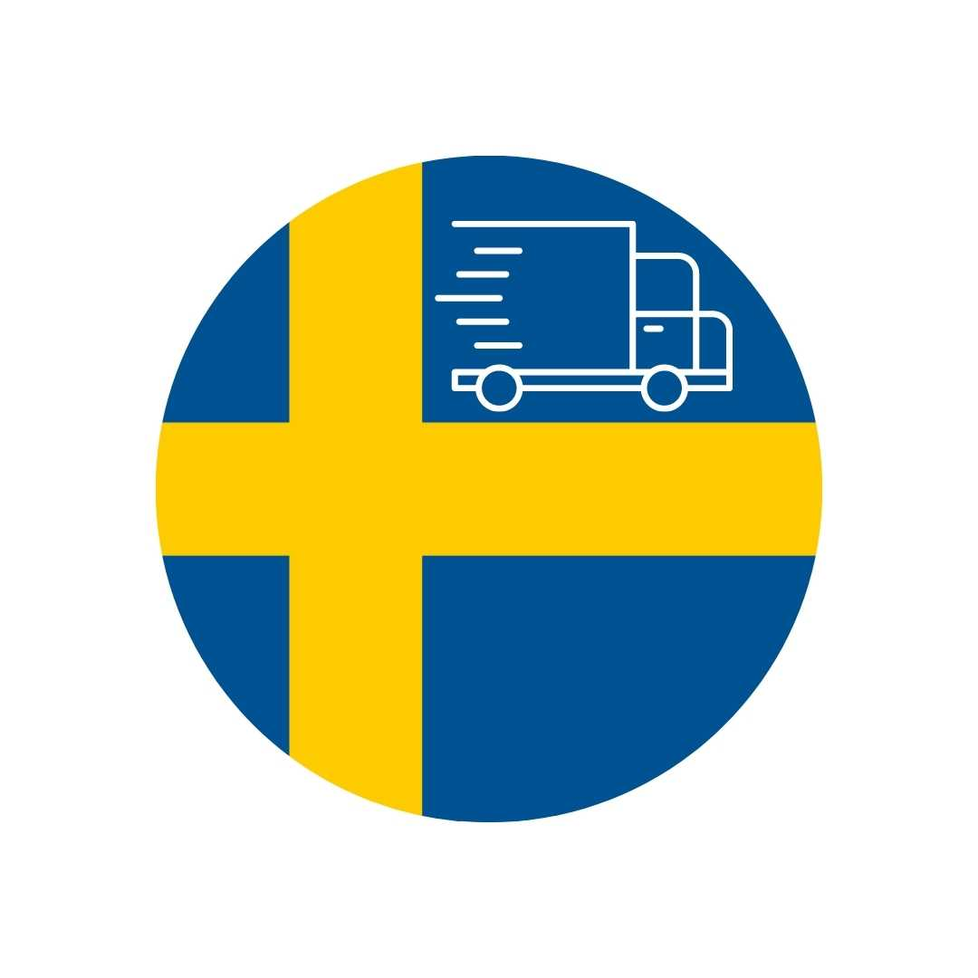 Festivo delivery to Sweden