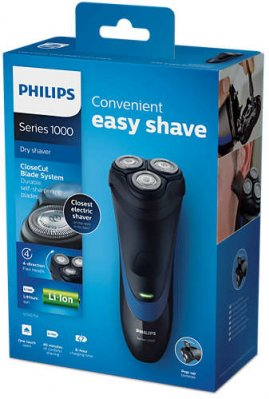 PHILIPS SHAVER SERIES 1000, BATTERY